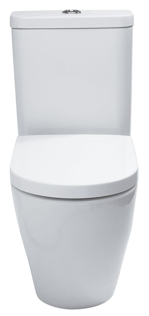 Astounding Cooke Lewis Helena Close Coupled Toilet With Soft Close Seat Departments Diy At Bq Creativecarmelina Interior Chair Design Creativecarmelinacom