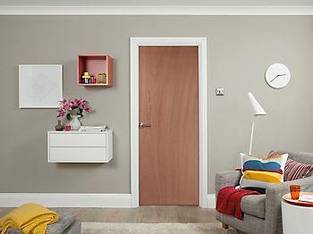 flush bedroom door