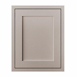 Cooke & Lewis Carisbrooke Taupe Framed Tall Double