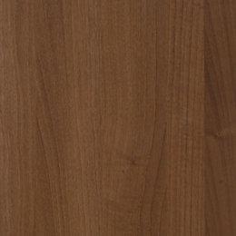 Cooke & Lewis Walnut Effect Modern Cornice/Pelmet (L)2500mm