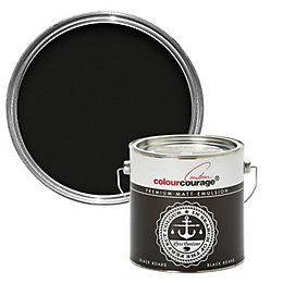 colourcourage Black board Matt Emulsion paint 2.5L