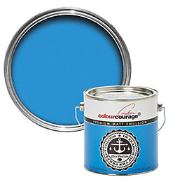 colourcourage Cote d'azur Matt Emulsion paint 2.5 L