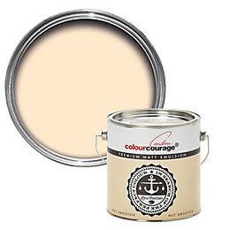 colourcourage Nut smoothie Matt Emulsion paint 2.5 L