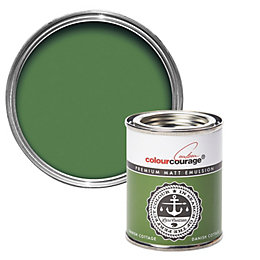 colourcourage Danish cottage Matt Emulsion paint 0.13L Tester