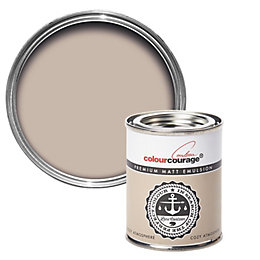 colourcourage Cozy Atmosphere Matt Emulsion Paint 0.125L Tester