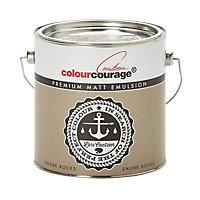 colourcourage Shore rocks Matt Emulsion paint 2.5L