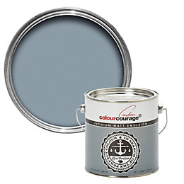 colourcourage Le chat gris Matt Emulsion paint 2.5L