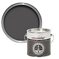 colourcourage Dark graphite Matt Emulsion paint 2.5L