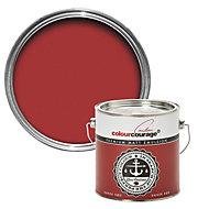 colourcourage Dansk rød Matt Emulsion paint 2.5L
