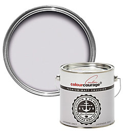 colourcourage Lavender grey Matt Emulsion paint 2.5 L