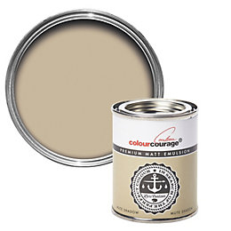 colourcourage Mute shadow Matt Emulsion paint 0.13L Tester