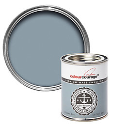 colourcourage Le chat gris Matt Emulsion paint 0.13L