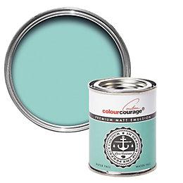 colourcourage Water fall Matt Emulsion paint 0.13L Tester