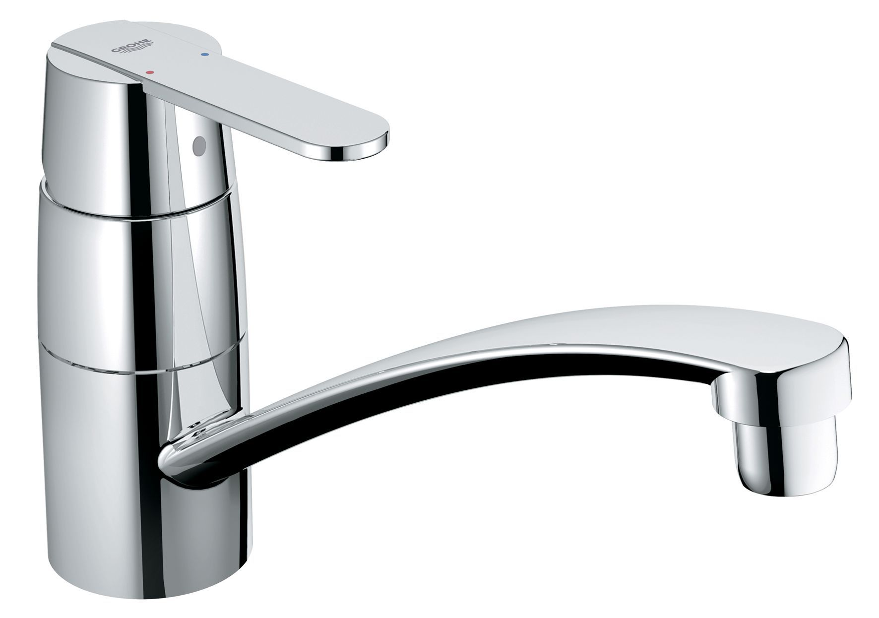 Grohe Get Chrome Effect Lever Tap | Clearance | DIY at B&Q