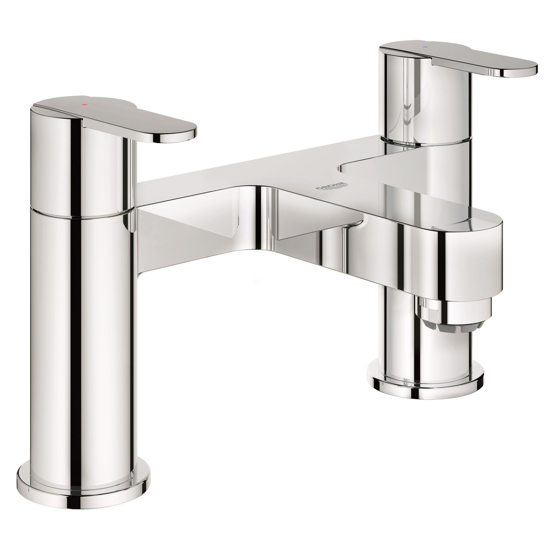 Grohe Get Chrome finish Bath filler tap | Departments | DIY at B&Q