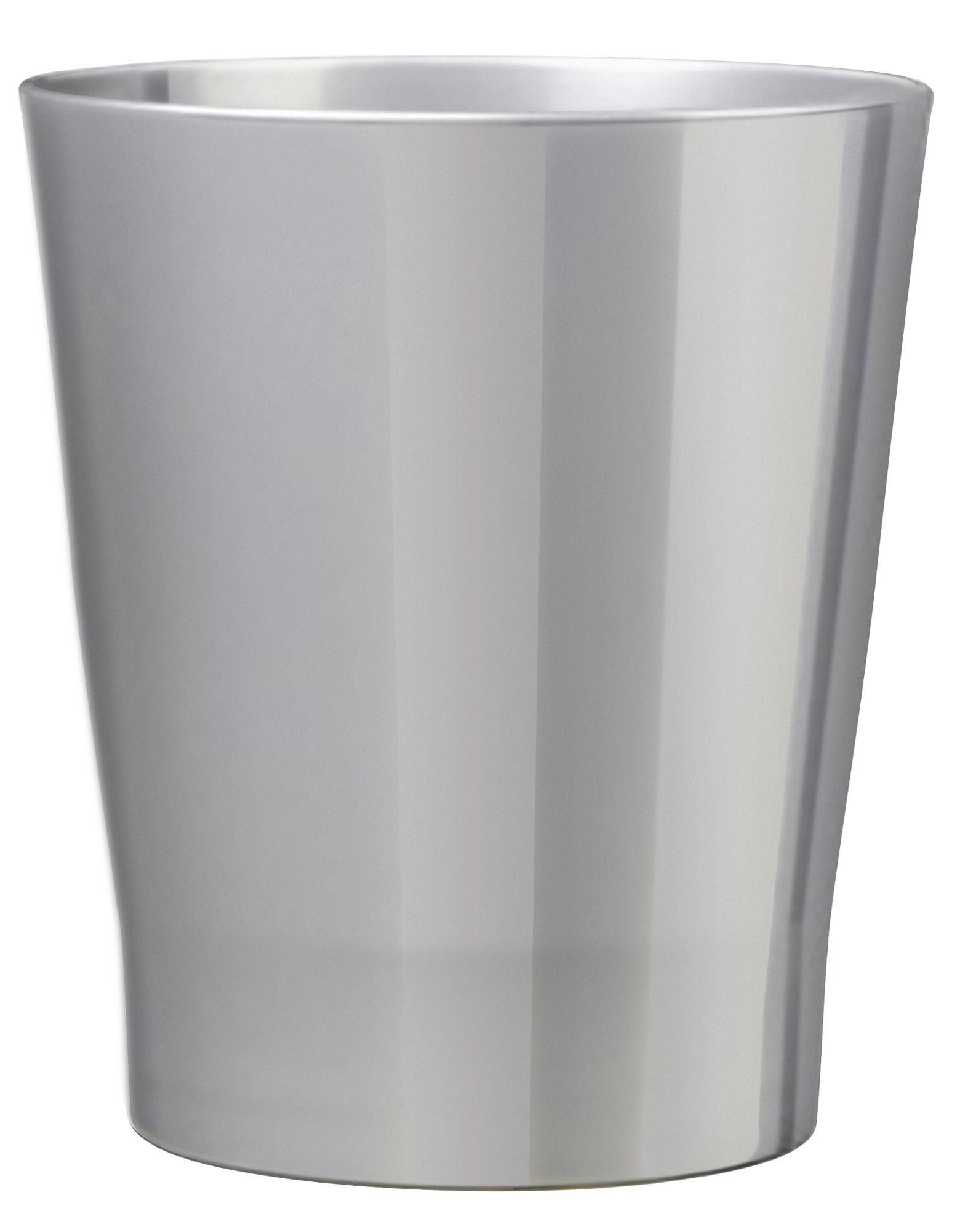 Nice Merina Glazed Silver Gloss Plant Pot (H)27cm (Dia)28cm | Departments | DIY  At Bu0026Q