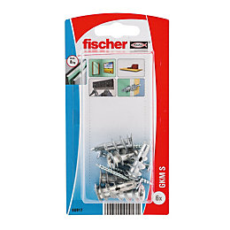 Fischer Steel Self Drilling Metal Plug, Pack of