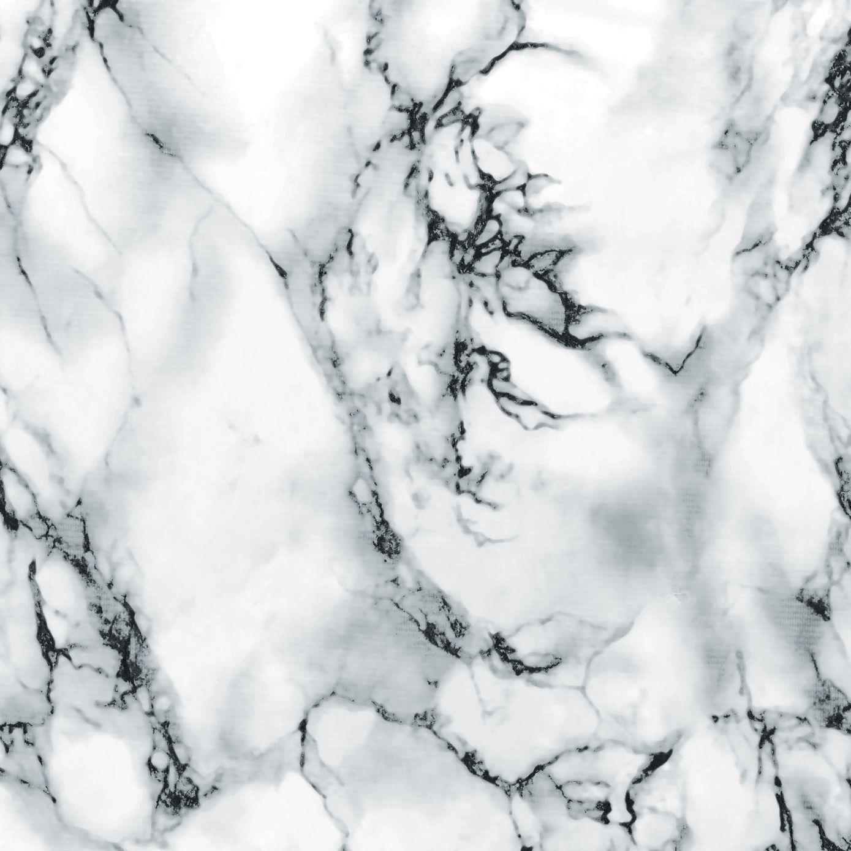 D C Fix Marmi Marble Effect White Self Adhesive Film L 2m