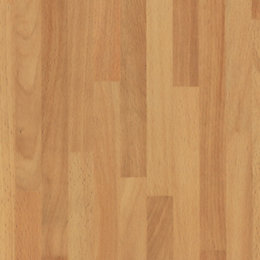 D-C-Fix Butcher block Beech effect Brown Matt Self