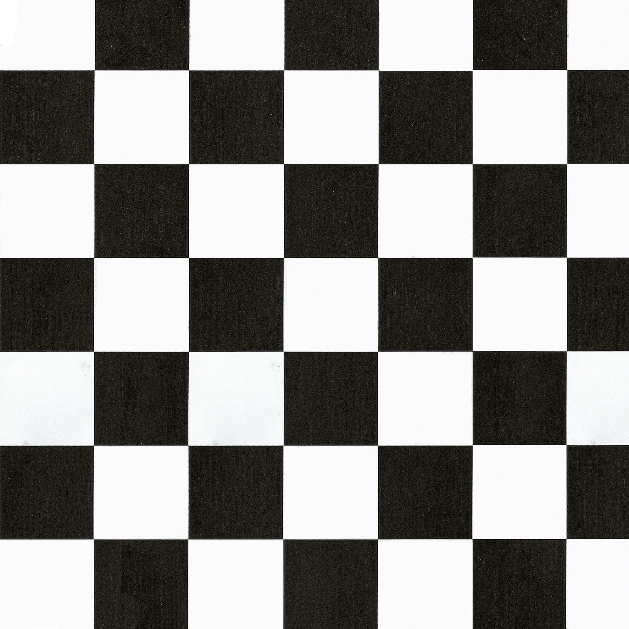 D C Fix Checkerboard Black Amp White Self Adhesive Film L