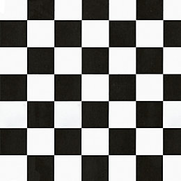 D-C-Fix Checkerboard Black & White Self Adhesive Film