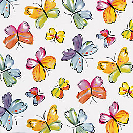 D-C-Fix Butterflies Multicolour Self Adhesive Film (L)2M (W)450mm