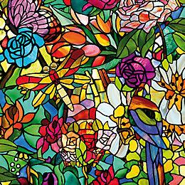 D-C-Fix Tulia Floral Multicolour Self Adhesive Film (L)2M