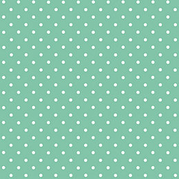 D-C-Fix Polka Dot Mint Green Self Adhesive Film