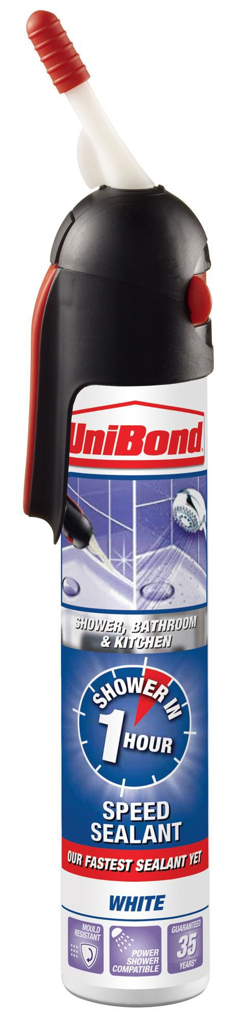 UniBond Easy Smooth Anti Mould White Kitchen & Bathroom ...