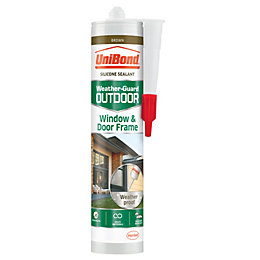 UniBond Brown Highly flexible Frame Sealant 300ml