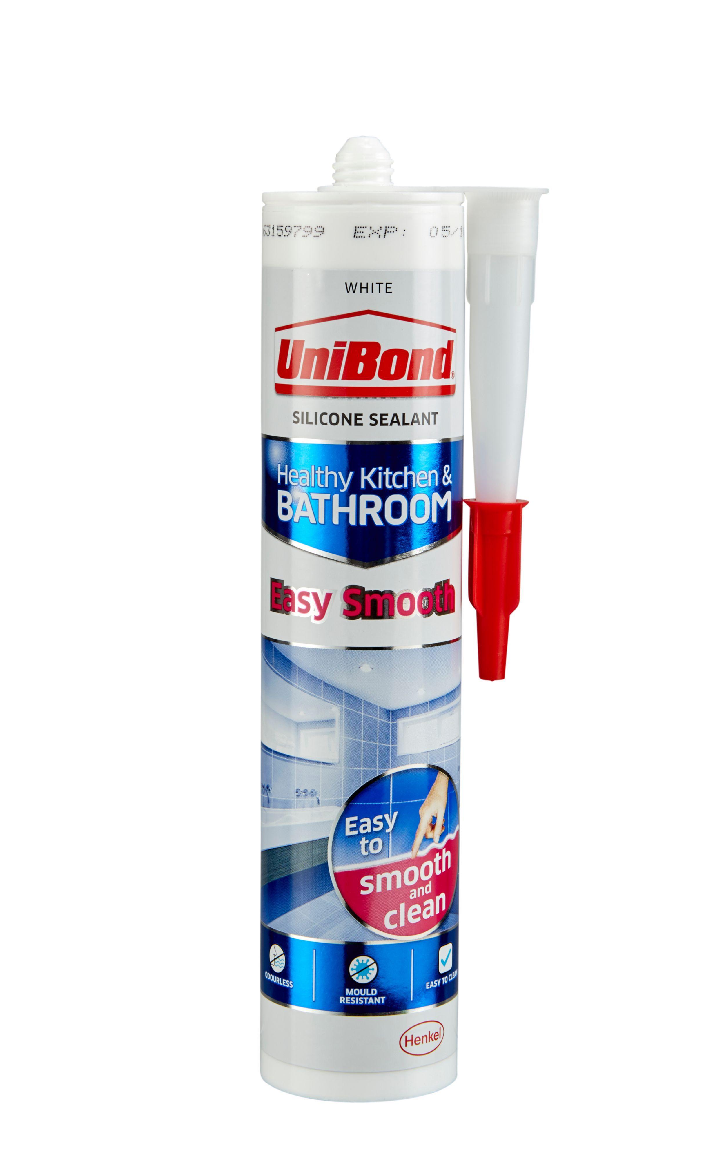 Unibond Easy Smooth Anti Mould White Kitchen Amp Bathroom