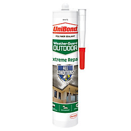 UniBond Extreme Repair White Outdoor Sealant 300 ml