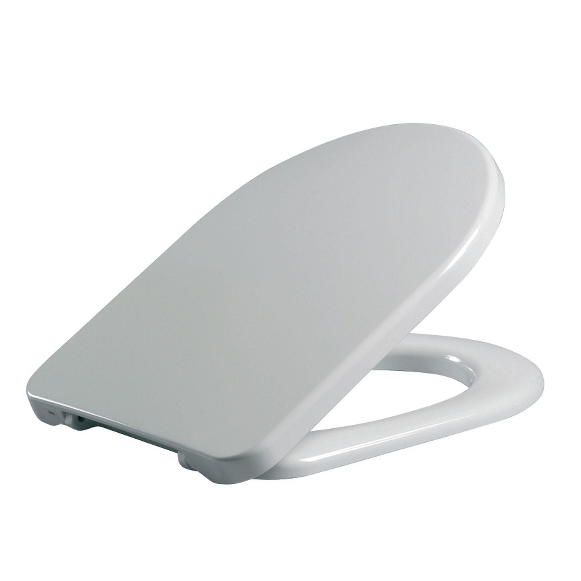 Prime Cedo Sorrel White Toilet Seat Departments Diy At Bq Creativecarmelina Interior Chair Design Creativecarmelinacom