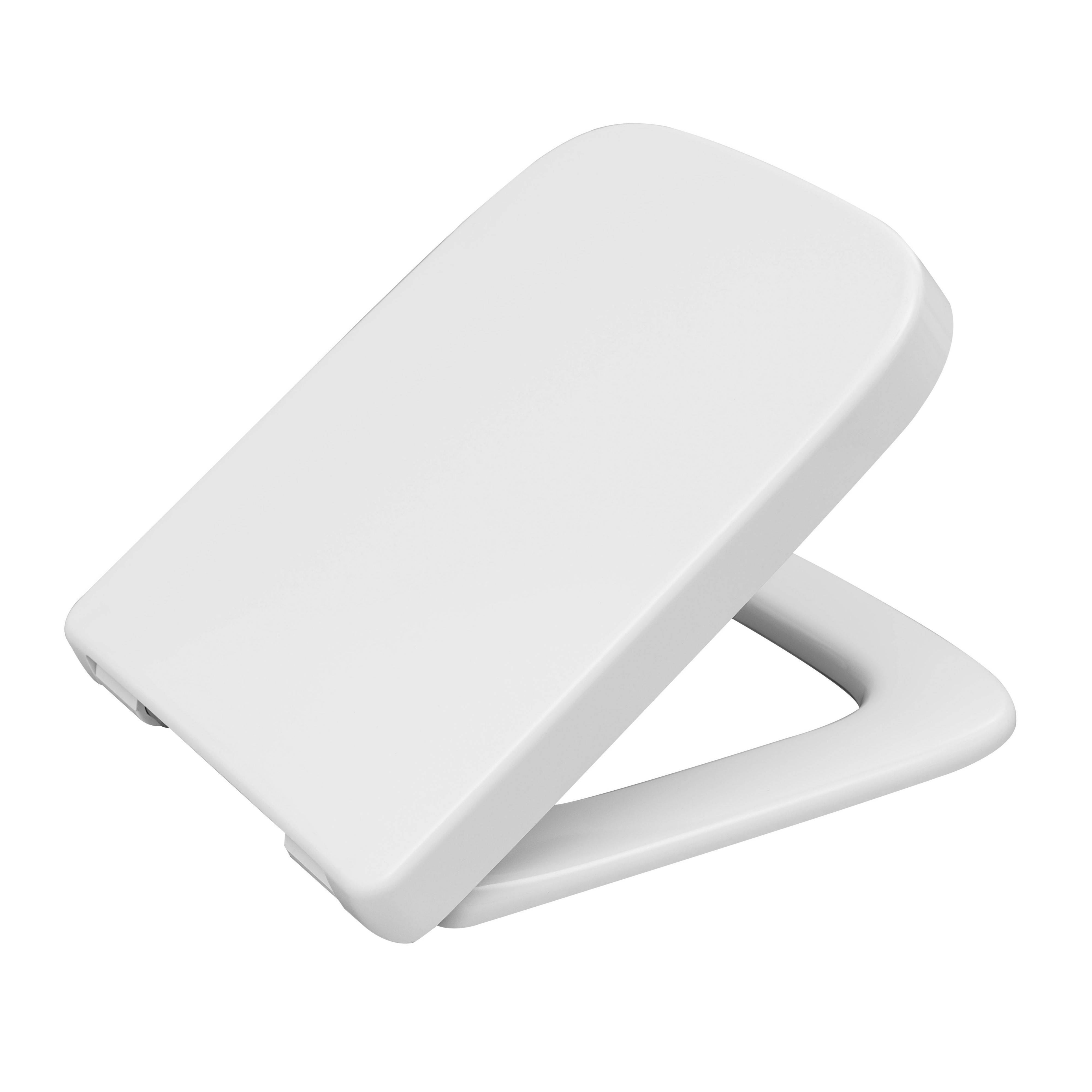 Superb Cedo Fabian White Soft Close Toilet Seat Departments Diy At Bq Creativecarmelina Interior Chair Design Creativecarmelinacom