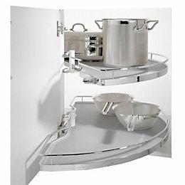 Kesseböhmer Corner Cabinet Half Carousel, 800mm