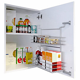 Kesseböhmer Cabinet Door Shelf, 500-600mm