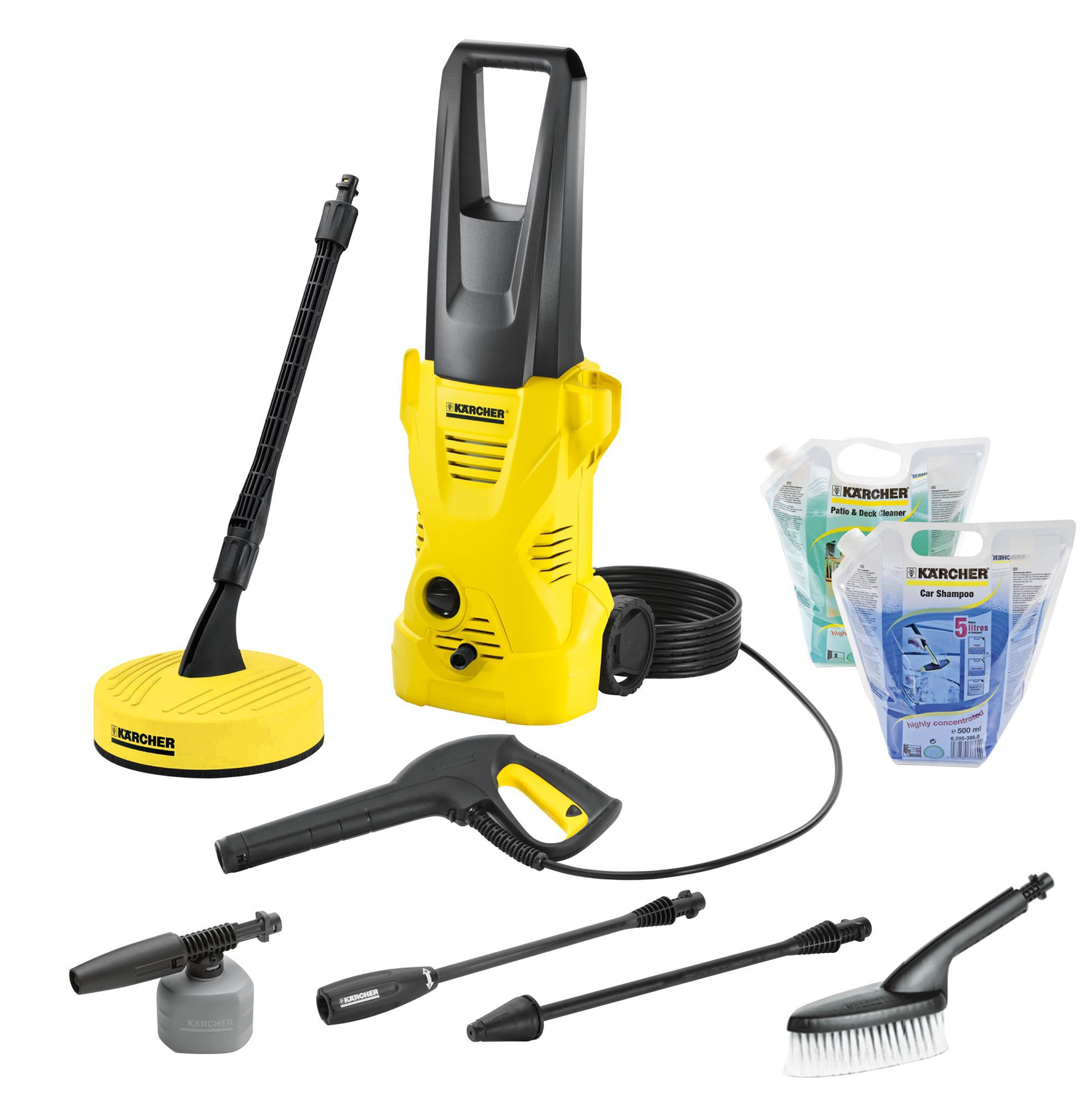 karcher k2 home car pressure washer 110 bar. Black Bedroom Furniture Sets. Home Design Ideas
