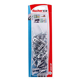 Fischer Steel Self drilling metal plug, Pack of