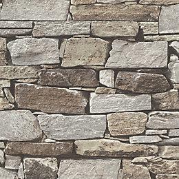 Brown Slate Stone Wallpaper