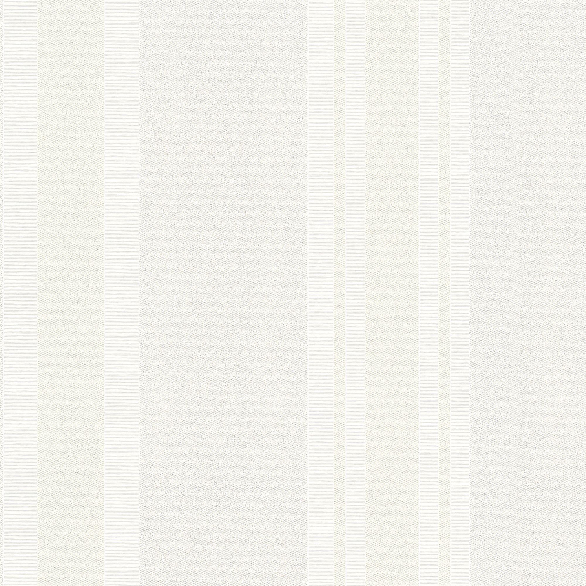 Burlington Cream Striped Glitter Highlight Wallpaper