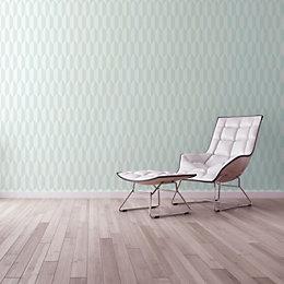 A.S. Creation Bjorn Blue & cream Geometric Wallpaper
