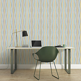 A.S. Creation Pop Colours Metallic Finish Wallpaper