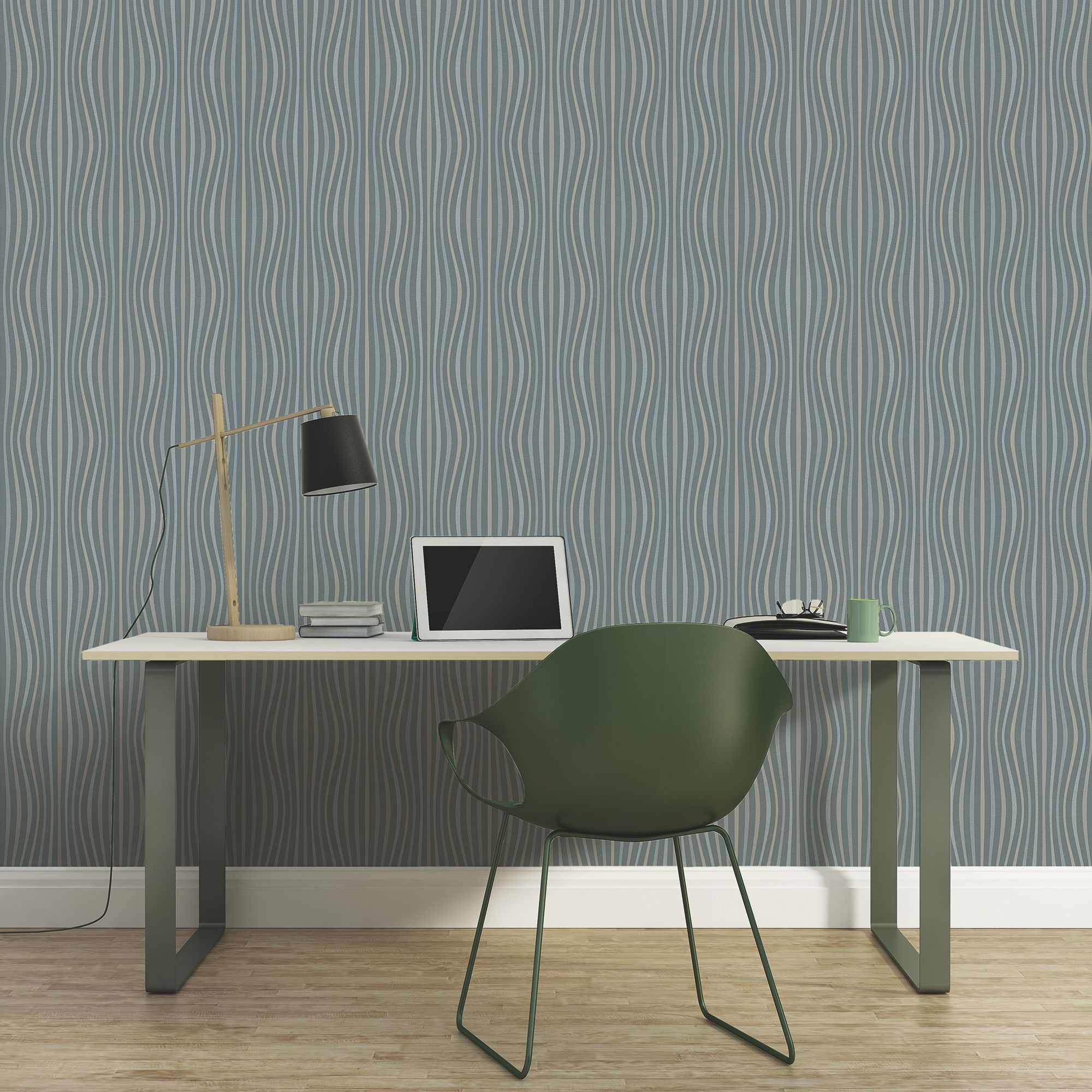 A.S. Creation Pop colours Grey Metallic Wallpaper