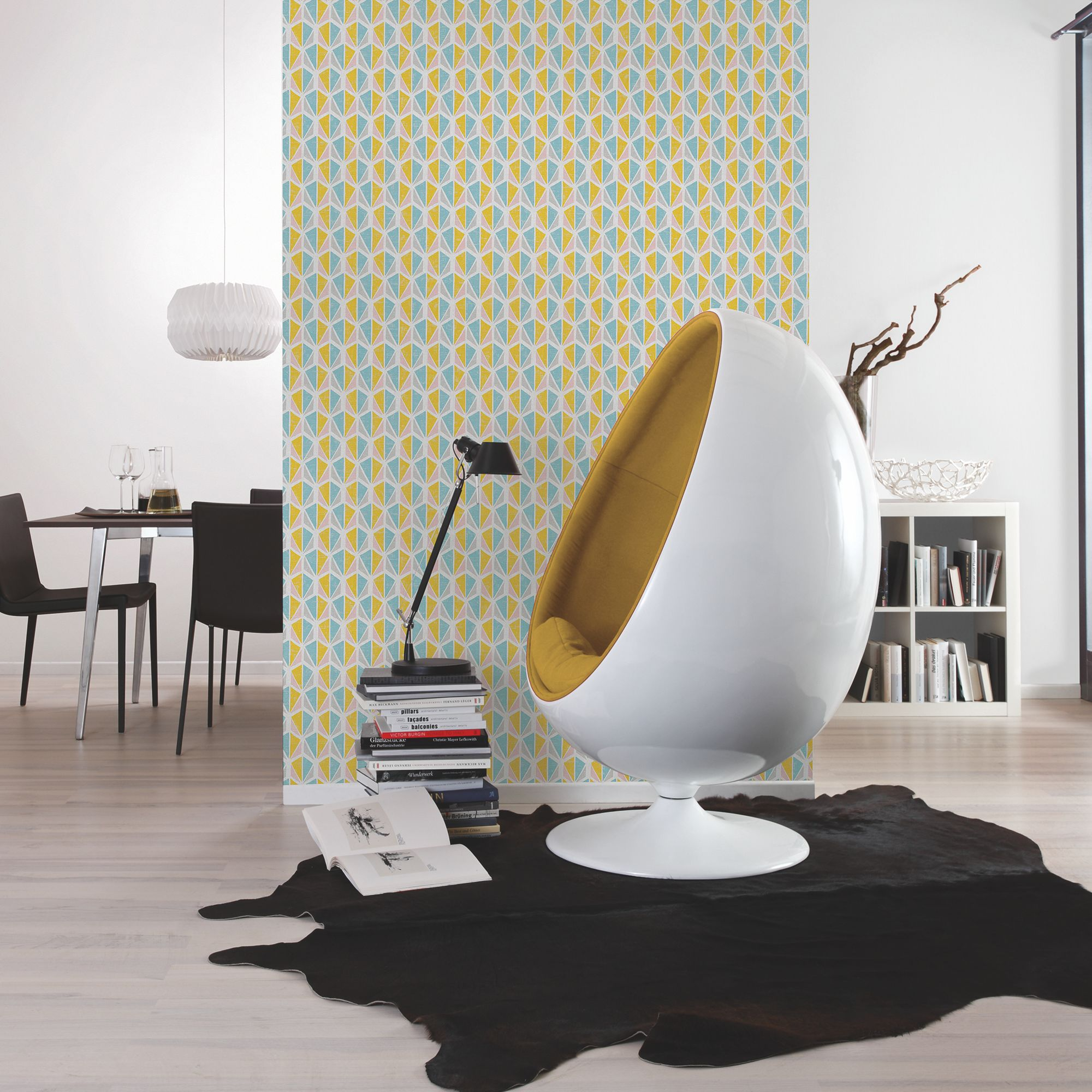 A.S. Creation Pop colours Geometric Wallpaper