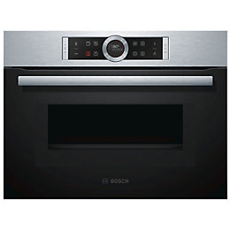 Bosch CMG633BS1B Brushed Steel Electric Compact Oven with