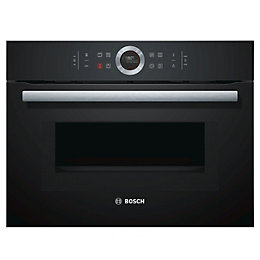 Bosch CMG633BB1B Black Electric Compact Oven with Microwave