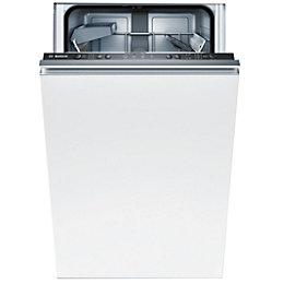 Bosch SPV40C10GB Integrated Slimline Dishwasher, White
