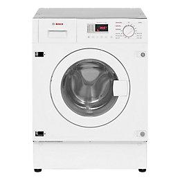 Bosch WKD28351GB White Built In Washer Dryer