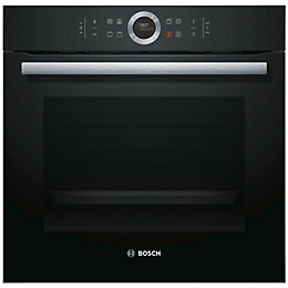 Bosch HBG633BB1B Black Electric Single oven