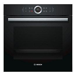 Bosch HBG673BB1B Black Electric Single oven